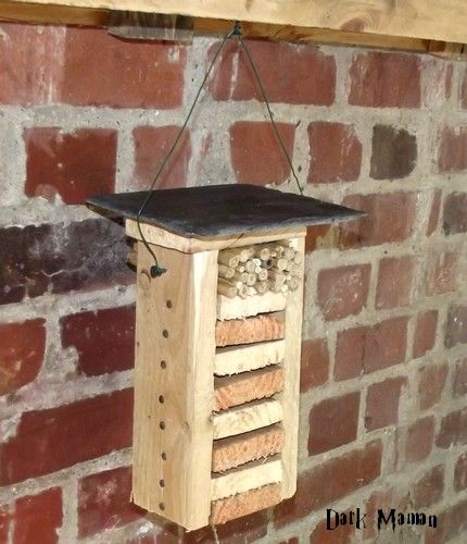 1000 id es sur le th me maison coccinelle sur pinterest - Maison a insectes fabrication ...