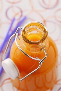 Sirop de Mandarine - ce #sirop est délicieux allongé d'eau, de champagne, ou en petites touche dans une vinaigrette.