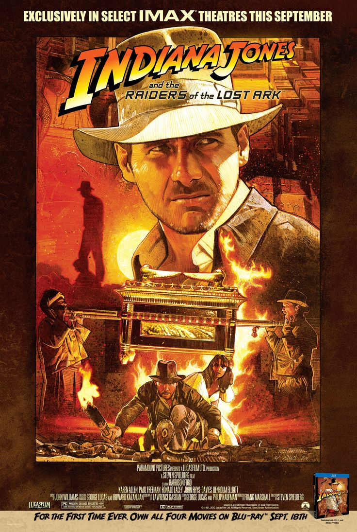 Indiana Jones and the Raiders of the Lost Ark (IMAX Poster)