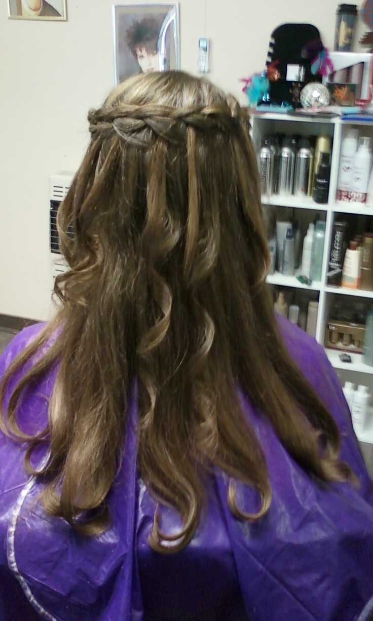 water falls hair style 37 best images about waterfall braid on the 8956