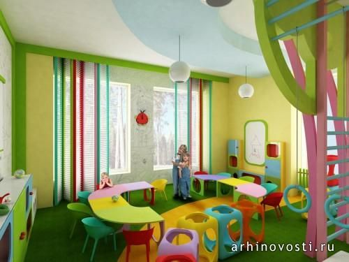 Участница Архиконкурса 2012 под номером 68 Алиса Лоскутова знает, каким должен быть детский сад, чтобы детишкам было комфортно и весело проводить в нём время, пока их родители находятся на работе. Красочный дизайн интерьера был разработан для детского мини-сада, появление...