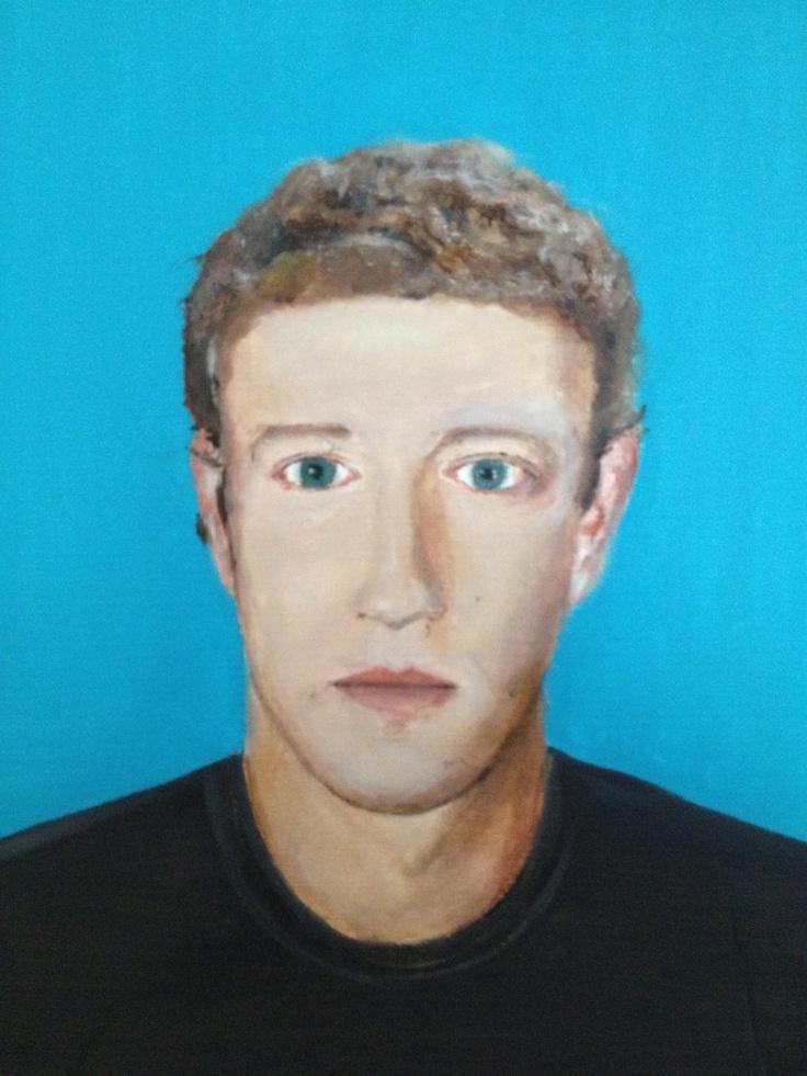 Mark Zuckerberg - Facebook co-founder  || Rui Oliveira || 2012