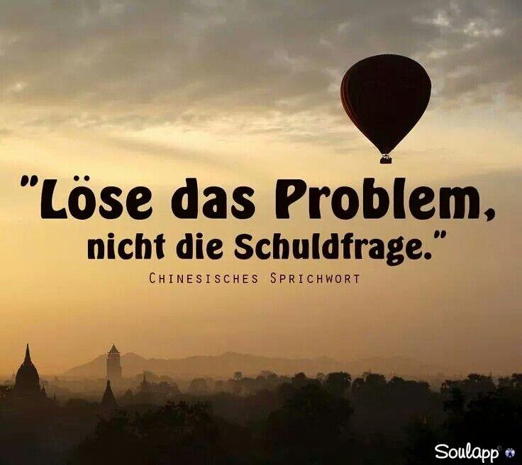 Löse Das Problem. Nicht Die Schuldfrage.