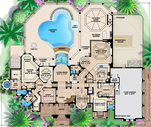 Mediterranean Mansion Floor Plans Design 77447630607: 1000+ Ideas About Mediterranean House Plans On Pinterest