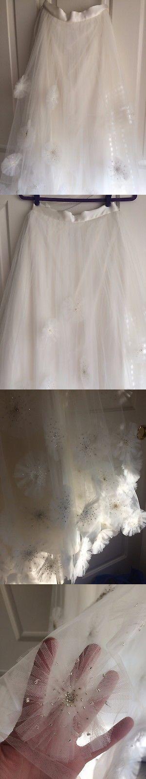 Wedding Dresses: Bhldn Anthropologie Callistemon Ivory Wedding Skirt Nwot Size 4 -> BUY IT NOW ONLY: $200 on eBay!