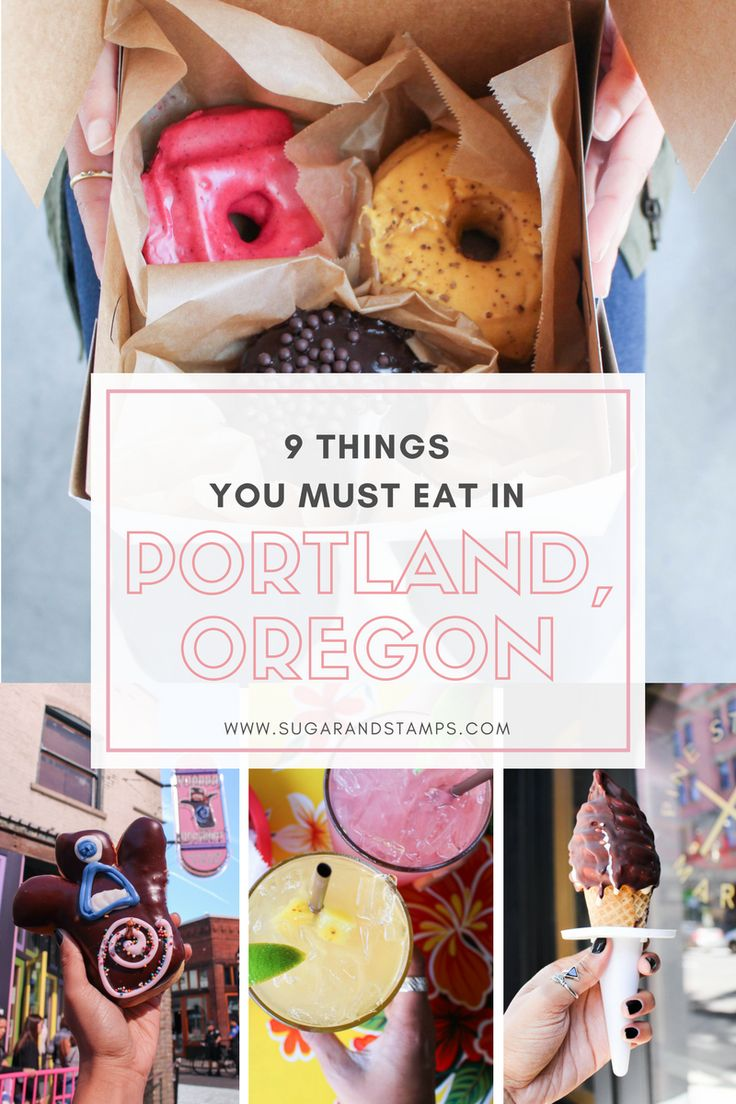 Travel: 9 Things You Must Eat in Portland, Oregon. Mmm, we accept the challenge.