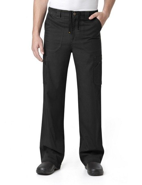 Men's Black Ripstop Cargo Pant