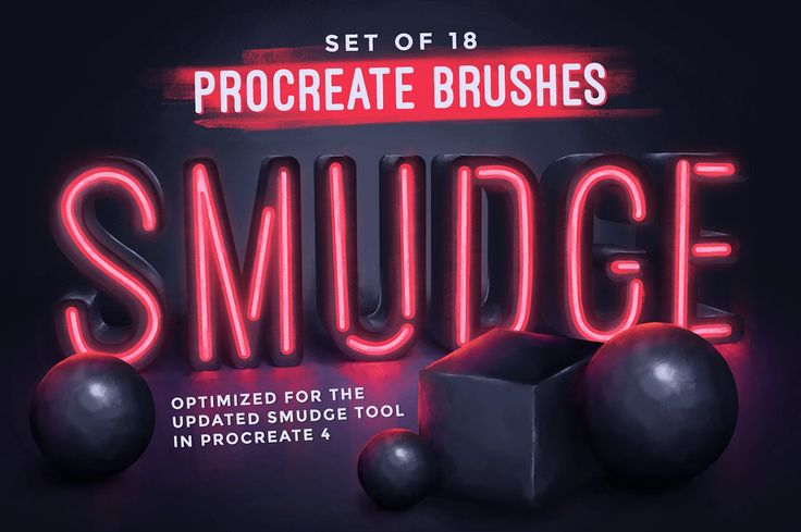 18 Procreate Smudge Brushes