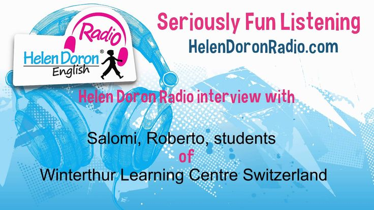 Interview with Helen Doron Students from Winterthur, Switzerland