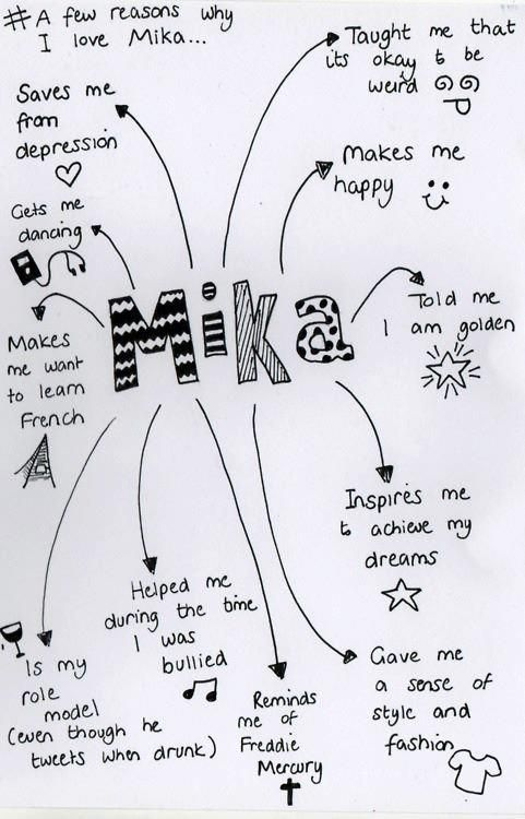 Only a few reasons why I love MIKA. He is amazing in every way in my life.