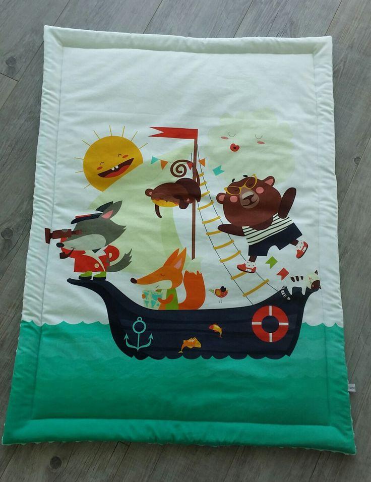 Couverture bébé- modèle bateau - plaid bébé - couverture fait main : Puériculture par small-sleeper