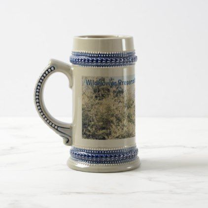 Wildflower Preservation Society Honey Locust Stein  $24.25  by FundarosaFineries  - custom gift idea