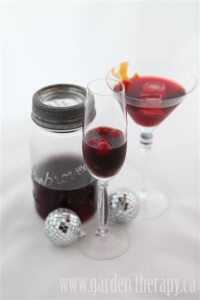 Blueberry & Blackberry Infused Vodka + New Year's Eve Cocktail Recipes