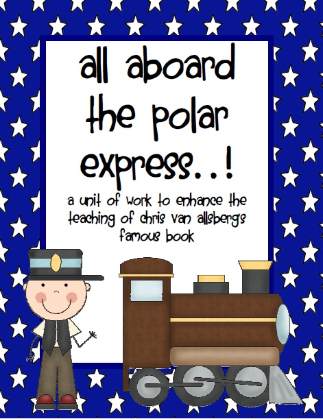 The Polar Express - Activities to support the book/film product from SOS-Supply on TeachersNotebook.com