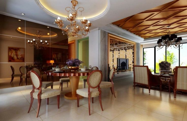 7 best turkish delight images on pinterest living room for Dining room 3d view