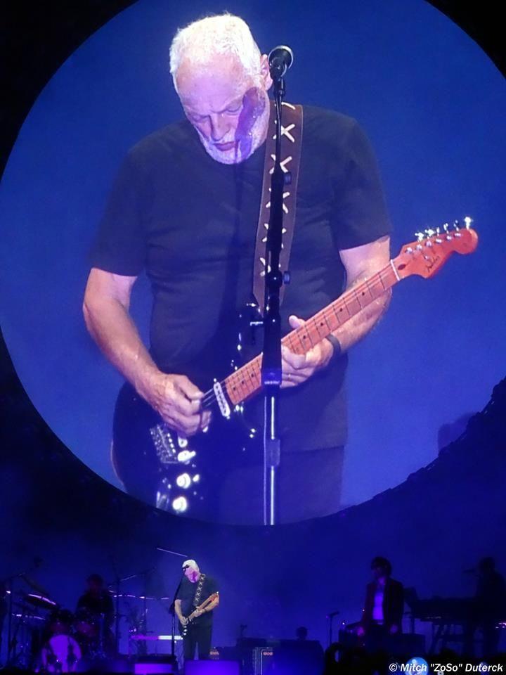 David Gilmour , Grote Markt Tienen - le 27 juillet 2016 Line Up : David GILMOUR…