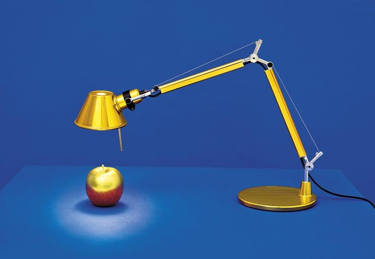 Tolomeo Micro Gold Limited Edition for Holiday 2016 Designed by Michele de Lucchi & Giancarlo Fassina Photo by PIerpaolo Ferrari