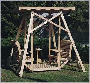Do Yourself Outdoor Projects | ... Glider Swing (Plan No. 818)