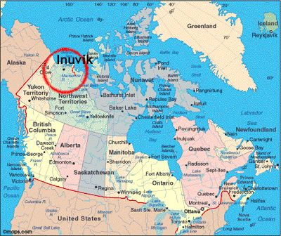 Inuvik, another favorite place.