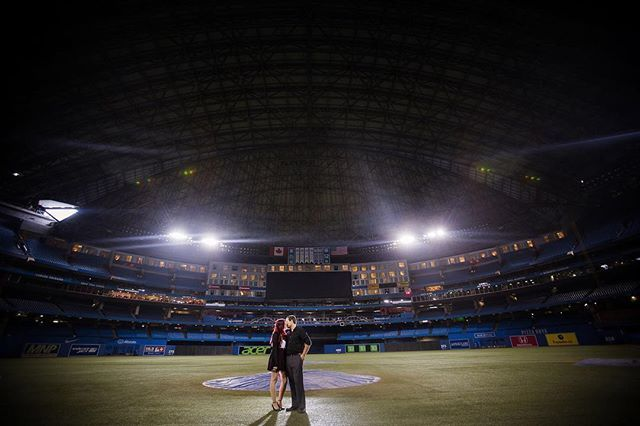 How fantastic is having the entire @rogerscentre  opened exclusively for your engagement session???  #luminous_weddings #thisiswhatlovelookslike      #engaged #engagement #bridetobe #shesaidyes #engagementphotos #engagementsession #ido #weddingphotographer #weddinginspiration #engagementring #bride #theknot #isaidyes #torontowedding #torontoweddingphotographer #weddingphotography #bridal #weddingplanning #gettingmarried #brides #groom #esession #weddings #weddingideas #soloverly…