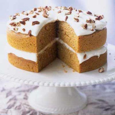 Pumpkin Pie Cake - Healthy Pumpkin Recipes - Health.com