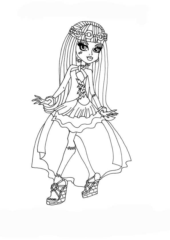 Monster High Ausmalbilder Ausmalbilder Monster Coloring Pages Monster High Monster