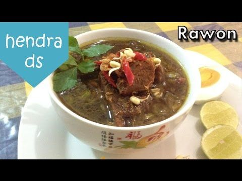 Rawon - Resep Rawon (Cara Membuat Rawon Mudah)