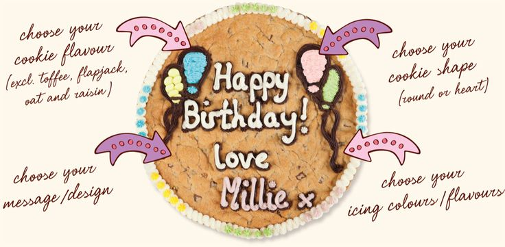 If someone got me this, I would be their bestfriend forever- Millie's Cookie