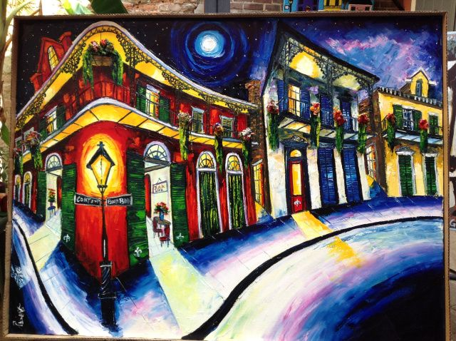 Superb New Orleans Artist Roberto