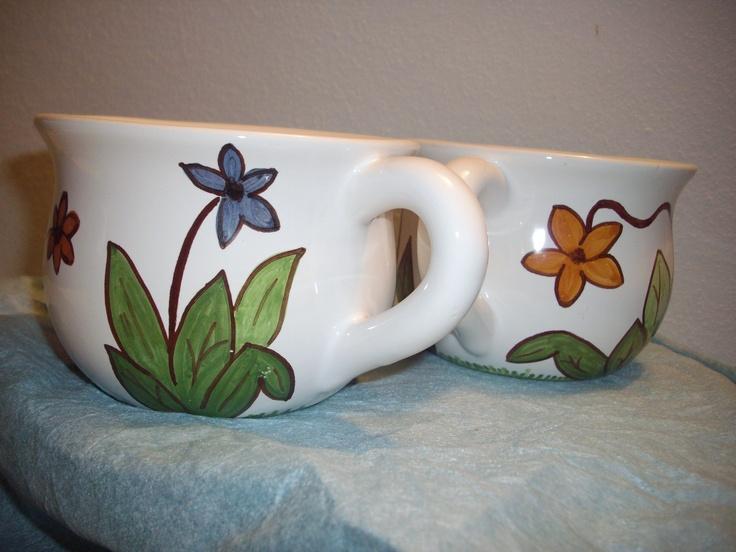 tazze fiorite