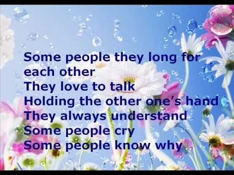 Cliff Richard: Some People - with lyrics