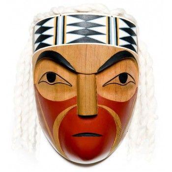 Osiam (Chief) Mask by Leslie Wells (Semiahmoo, Coast Salish).