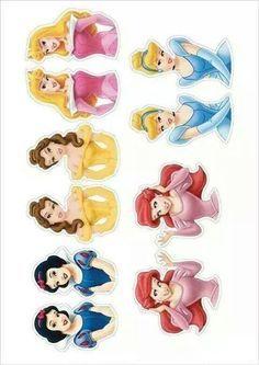 Disney Princess Party topper Printables - Google Search