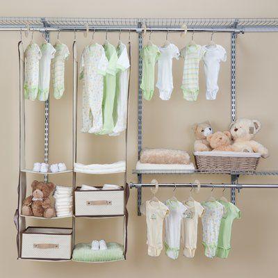 Charming Nursery Closet Storage Set