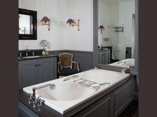 salle de bains classique bathroom obsession pinterest. Black Bedroom Furniture Sets. Home Design Ideas