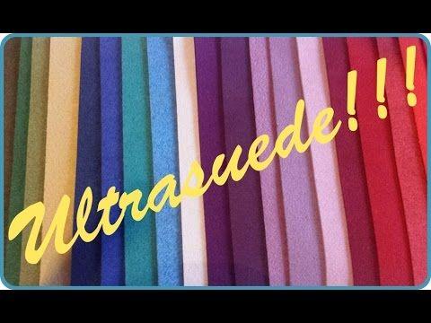 Ultrasuede per foderare retro bijoux soutache ed embroidery
