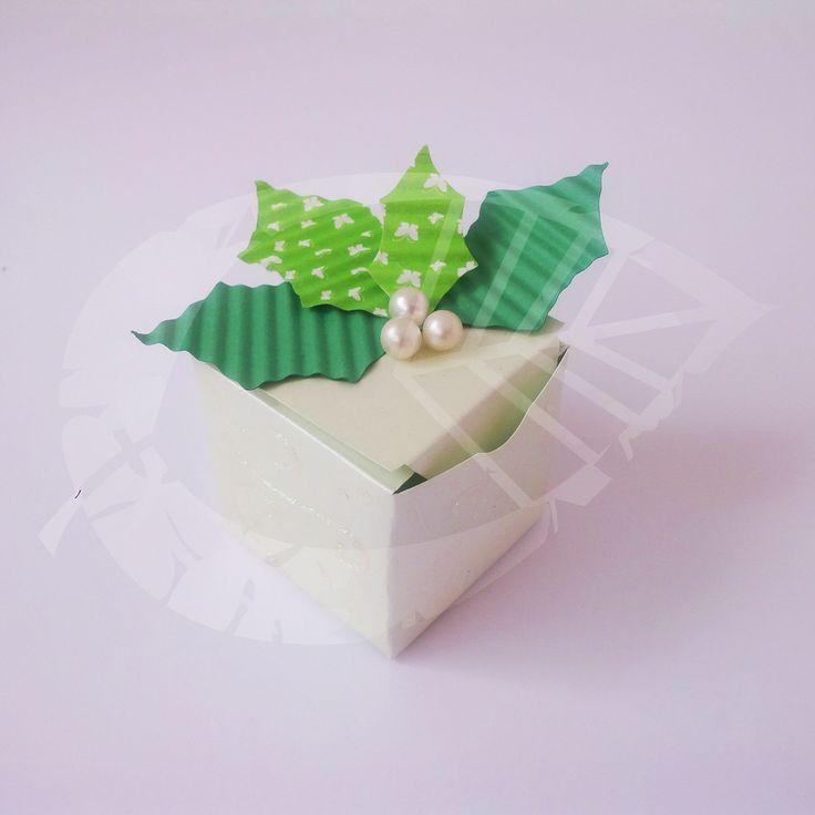 Caja para regalo #Navidad