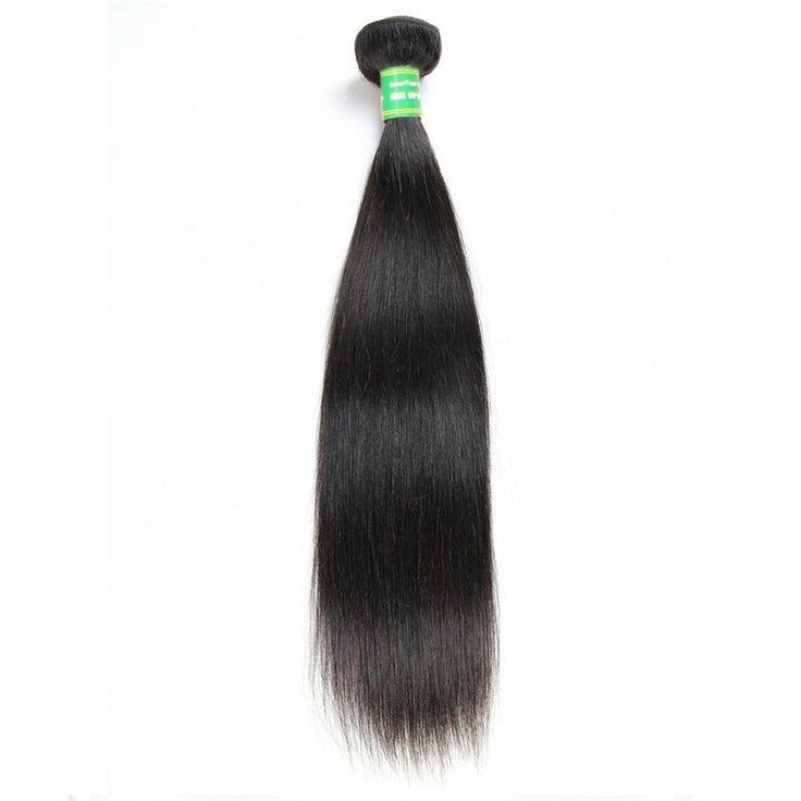 Tissage Brésilien REMY Straight 100% Cheveux Naturels