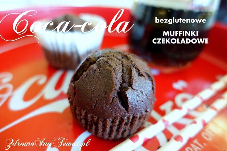 Czekoladowe muffiny z Coca-colą.