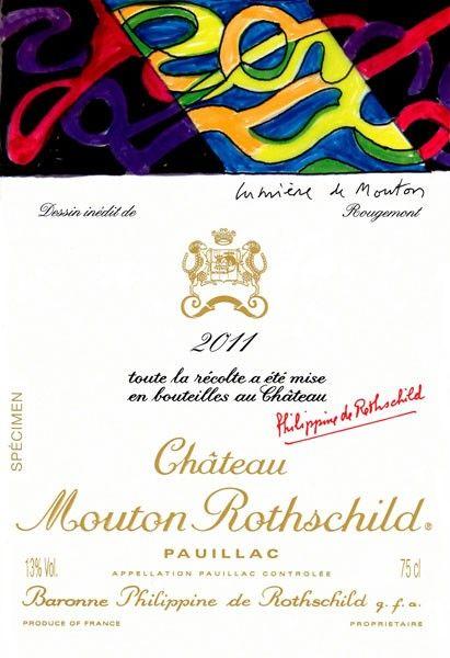 Mouton Rothschild picks French artist for 2011 vintage label | decanter.com