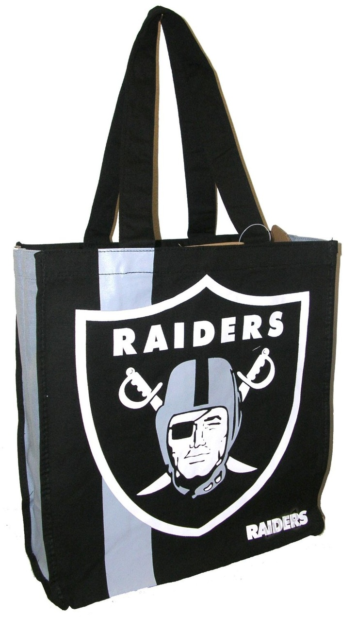 NFL Oakland Raiders Handbag Shopping Bag