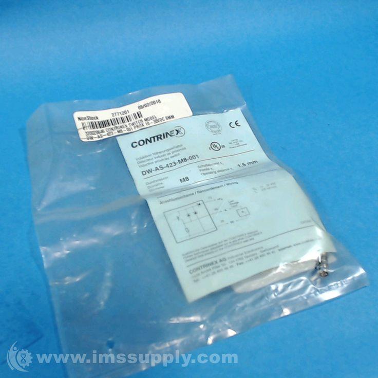 CONTRINEX DW-AS-423-M8-001 INDUCTIVE PROXIMITY SWITCH