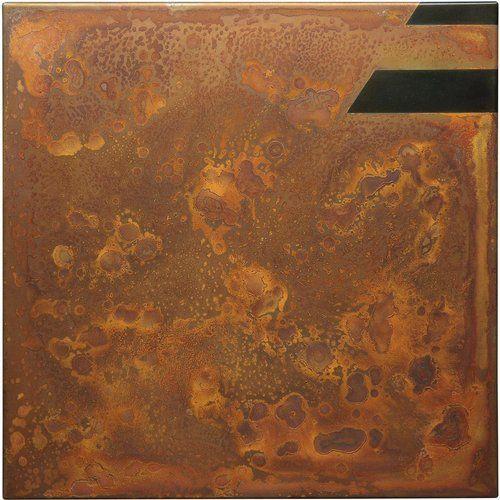 Rust Painting 19 by Amer. #rustpainting #rustart #oxidationart #artonmetal #artonsteel #amerrust