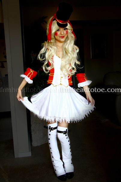 From Head To Toe: Toy Soldier Halloween Tutorial