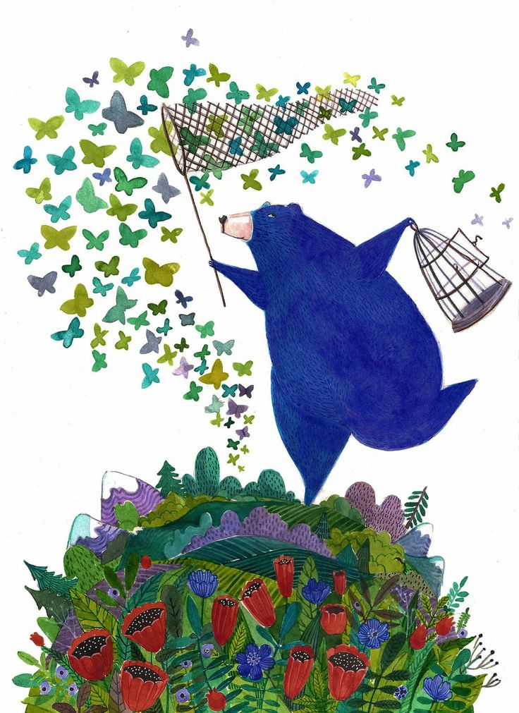 Bluberry Bear - by Yana Fefelova