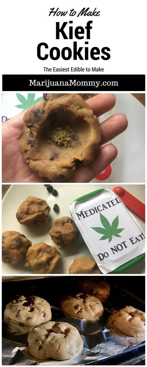 Kief Cookies Are the Easiest Edibles to Make I'm always looking for new edibles. So when my friend suggested I try these Kief Cookies, I busted out my favorite cookie dough recipe.  Gosh these are easy and potent!!  Marijuana infused edible recipes don't have to be complicated.  Try these weed cookies.  https://www.marijuanamommy.com/kief-cookies-recipe-easiest-edible/