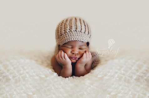 Newsboy style hat by Littlebit and Whimsy on Etsy
