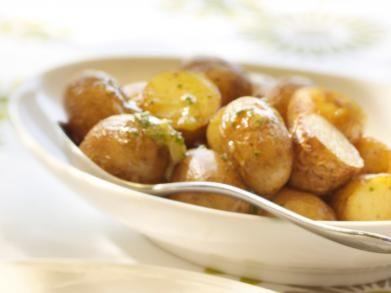 Geroosterde knoflookaardappeltjes
