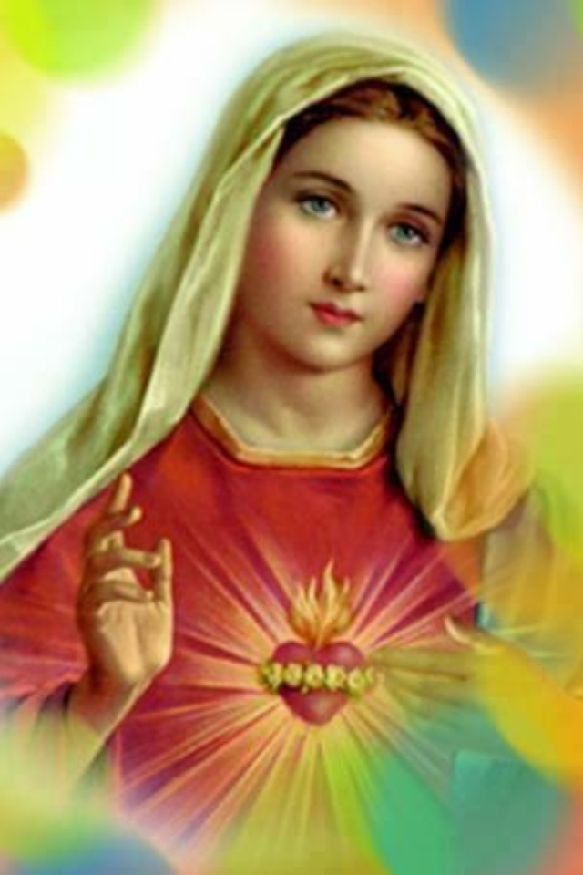 Blessed Virgin Mary and her most Immaculate Heart