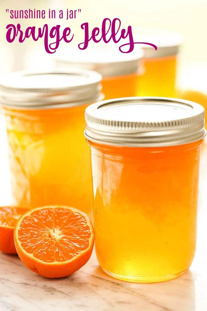 Homemade Orange Jelly Recipe!